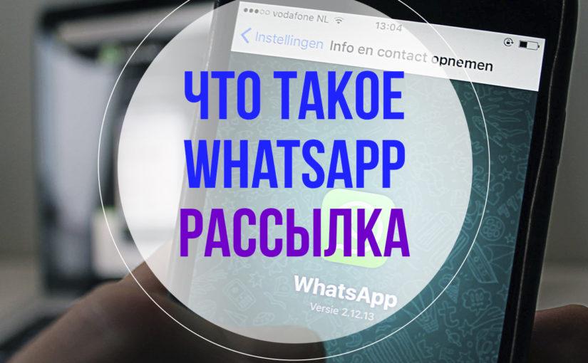 Что такое Whatsapp рассылка?